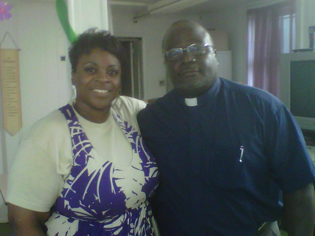 Dr. Pittman & Rev. Bryant Pastor of Friendship Baptist